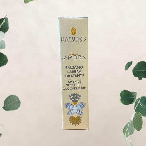 Balsamo Labbra Idratante Zucchero d'Ambra