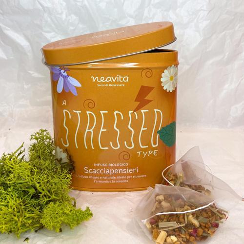 Cofanetto Stressed con infuso in filtri