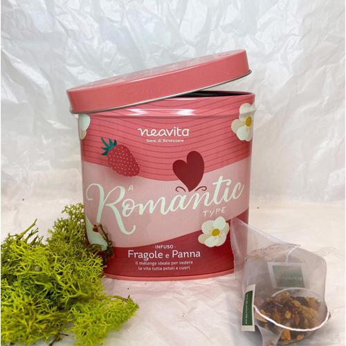 Cofanetto Romantic con infuso in filtri